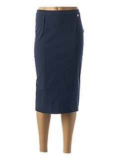 Jupe mi-longue bleu TWINSET pour femme