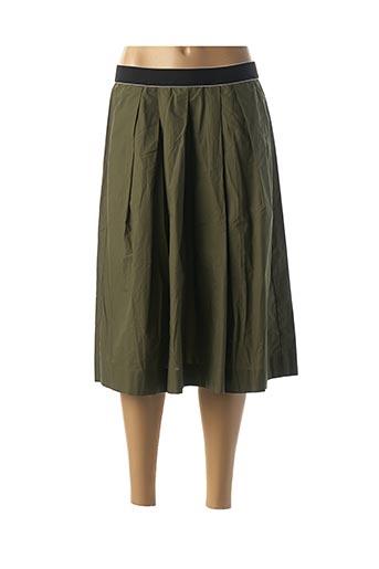 Jupe mi-longue vert COP COPINE pour femme