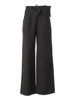 Pantalon chic noir RINASCIMENTO pour femme