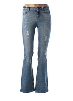 Jeans bootcut bleu NAF NAF pour femme