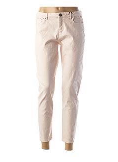Pantalon 7/8 rose NAF NAF pour femme