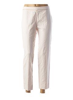Pantalon casual rose NAF NAF pour femme