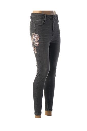 Jeans skinny gris CAMAIEU pour femme