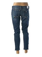Jeans coupe slim bleu GUESS pour femme seconde vue