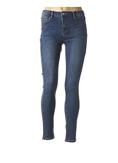 Jeans skinny bleu CINDY.H pour femme