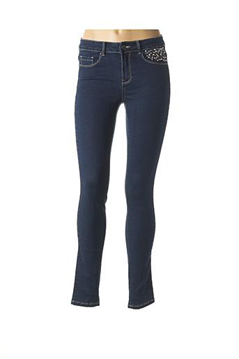 Jeans skinny bleu ETAM pour femme