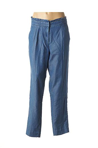 Pantalon casual bleu NAF NAF pour femme