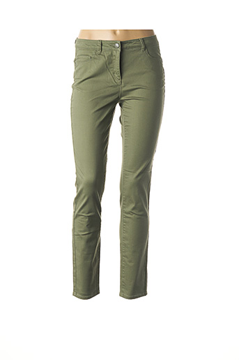 Pantalon casual vert BALSAMIK pour femme