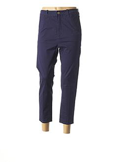 Pantalon 7/8 bleu G STAR pour femme