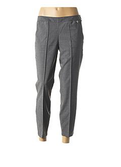 Pantalon 7/8 gris TWIN-SET SIMONA BARBIERI pour femme