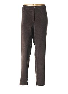 Pantalon chic marron WEINBERG pour femme