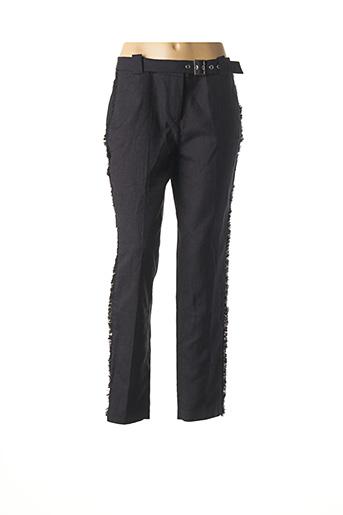 Pantalon chic noir MORGAN pour femme