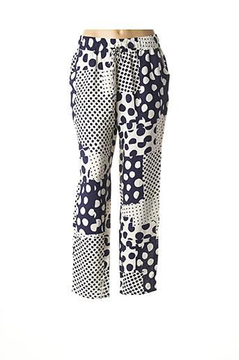 Pantalon casual bleu MAISON 123 pour femme