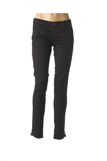 Pantalon casual noir CIMARRON pour femme