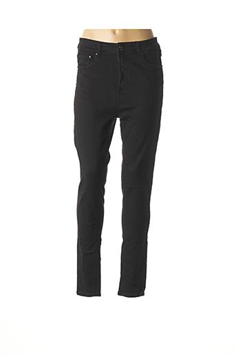 Pantalon casual noir FIFTY pour femme