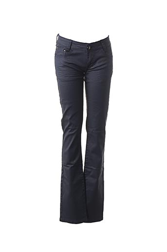Jeans coupe slim bleu EMMA LOU pour femme