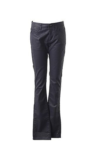 Pantalon casual bleu IKKS pour femme