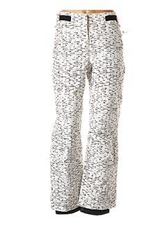 Pantalon casual blanc EIDER pour femme