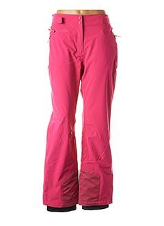 Pantalon casual rose EIDER pour femme