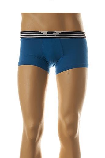 Shorty/Boxer bleu ARMANI pour homme