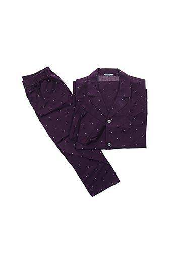 Pyjama violet EMINENCE pour homme