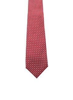 Cravate rouge ALTEA pour homme