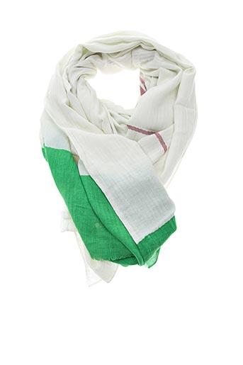 Foulard vert LOVAT & GREEN pour femme