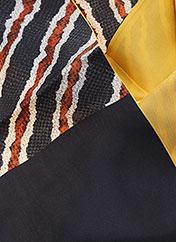 Foulard jaune BY MALENE BIRGER pour femme seconde vue