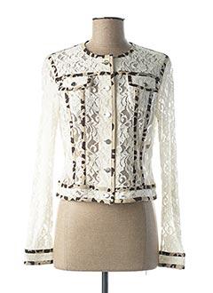 Veste casual blanc ANANKE pour femme