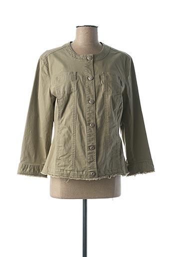 Veste casual vert BETTY BARCLAY pour femme