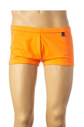 Short orange HOM pour homme