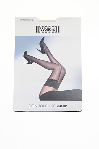 Bas beige WOLFORD pour femme