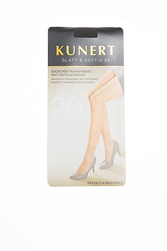 Chaussettes gris KUNERT pour femme
