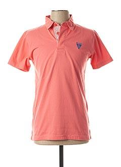 Polo manches courtes orange CAMBERABERO pour homme