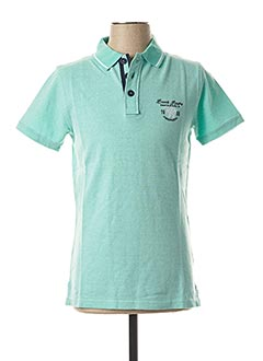 Polo manches courtes vert CAMBERABERO pour homme