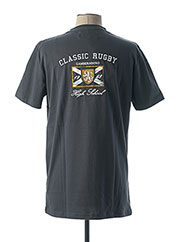 T-shirt manches courtes gris CAMBERABERO pour homme seconde vue