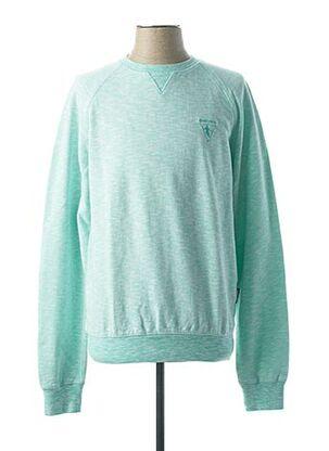 Sweat-shirt bleu CAMBERABERO pour homme