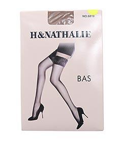 Bas chair H.NATHALIE pour femme