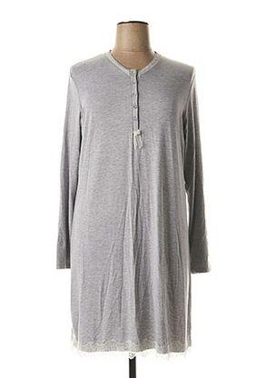 Chemise de nuit gris VANIA pour femme