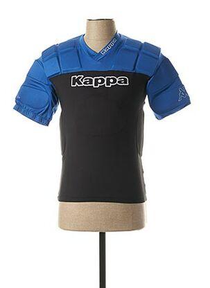 T-shirt manches courtes noir KAPPA pour homme
