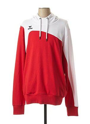 Sweat-shirt rouge ERIMA pour homme