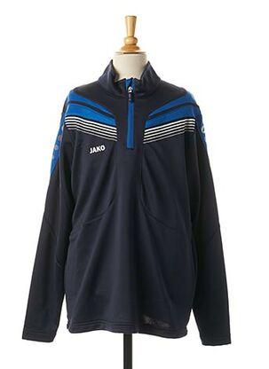 Veste casual bleu JAKO pour garçon