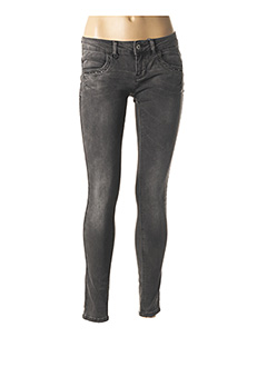 Jeans skinny gris ONLY pour femme