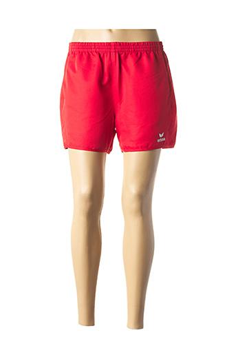 Short rouge ERIMA pour femme