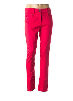 Pantalon casual rouge LOLA ESPELETA pour femme