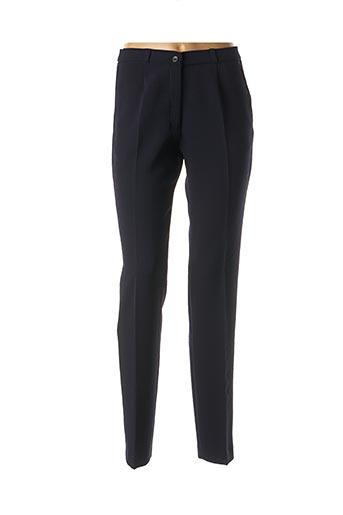 Pantalon casual bleu ANNE KELLY pour femme