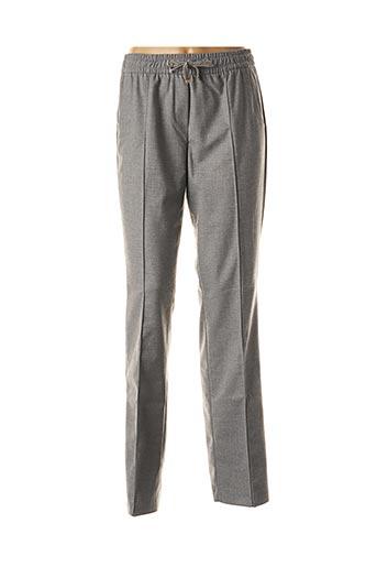 Pantalon casual gris BETTY BARCLAY pour femme