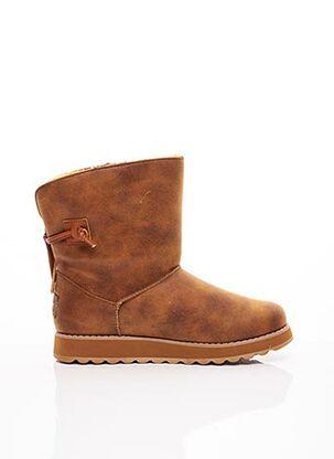 Bottines/Boots marron SKECHERS pour femme