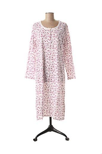Chemise de nuit rose DAMART pour femme