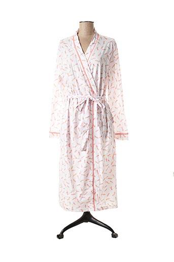 Robe de chambre blanc DAMART pour femme